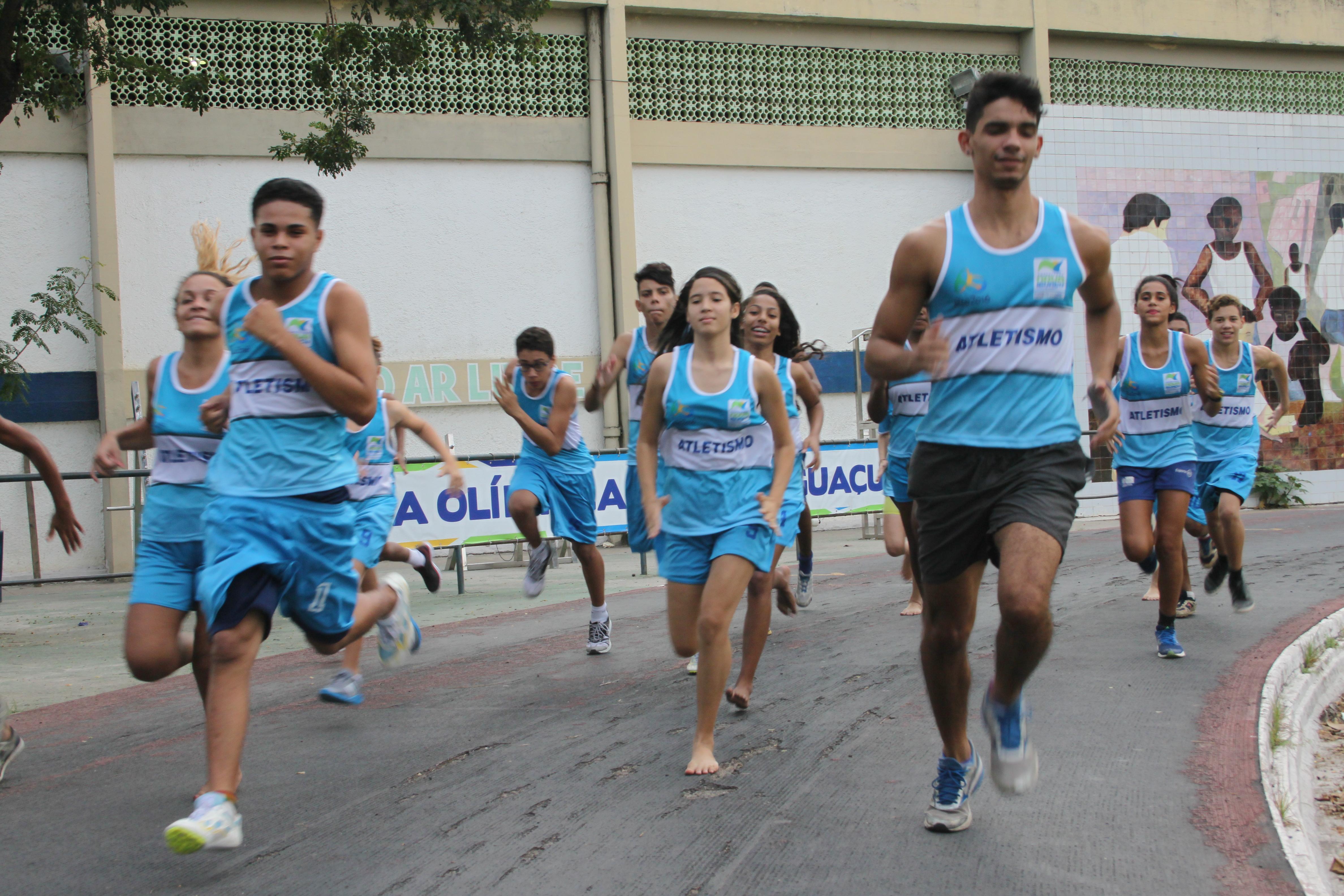 desafio iguaçuano de atletismo