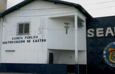 Cadeia Pública Dalton Crespo de castroFoto Carlos Emir
