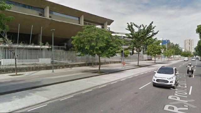 Local onde a vítima foi baleada.Foto: Google Street View/Reprodução
