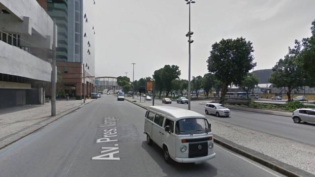 Trecho onde foram disparados os tiros/Google Street View