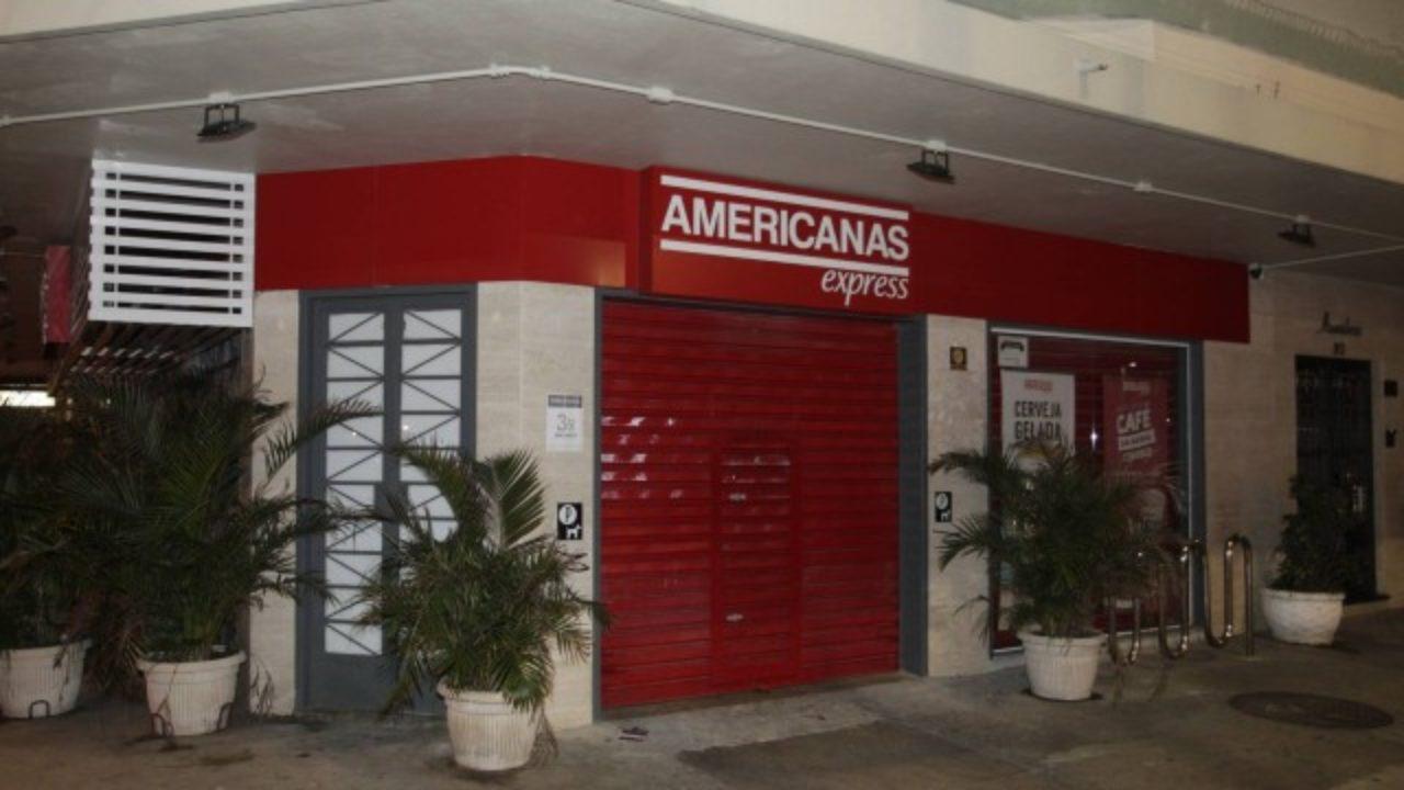 080504da44ba Três Lojas Americanas foram assaltadas na noite desta quinta - Jornal hora H