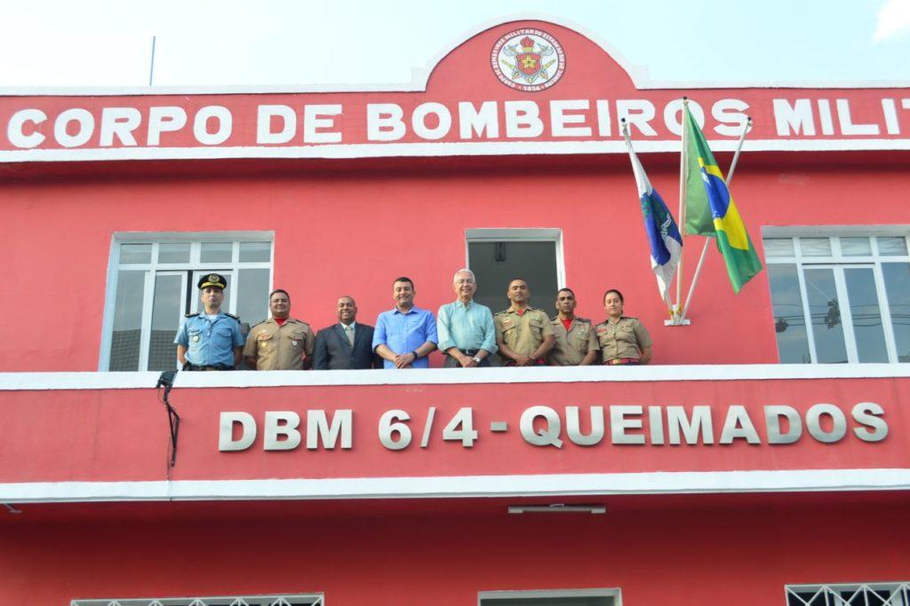Corpo de Bombeiros de Queiamdos comemora um ano de inauguração (2)