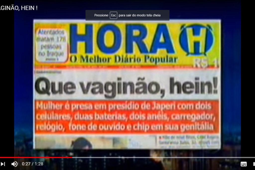HORA H VAGINÁO