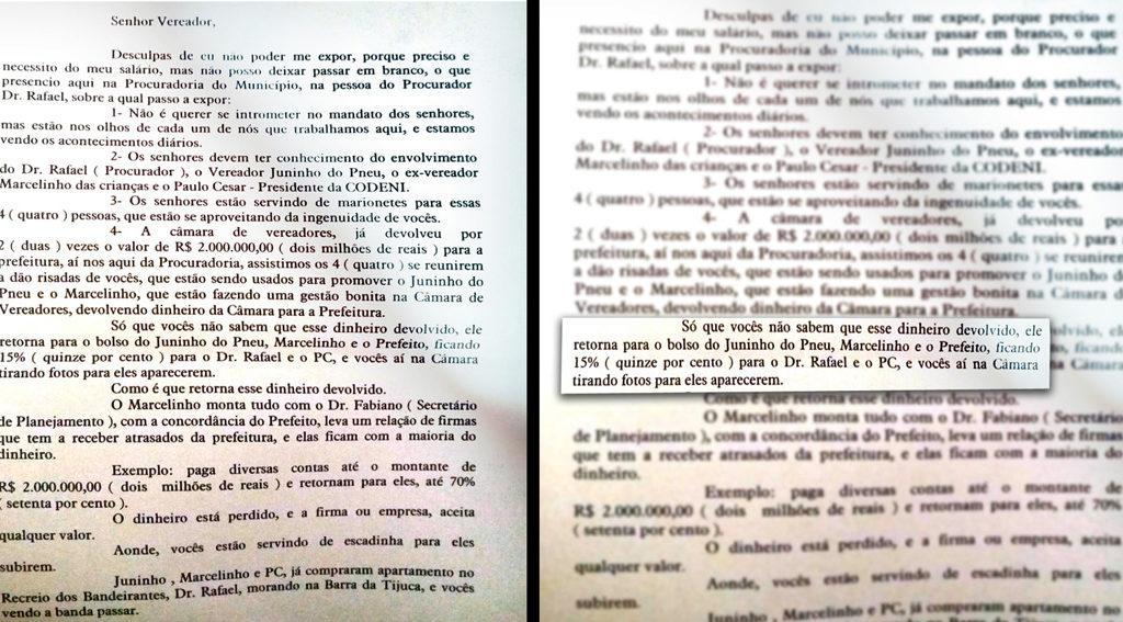 carta camara MONTAGEM