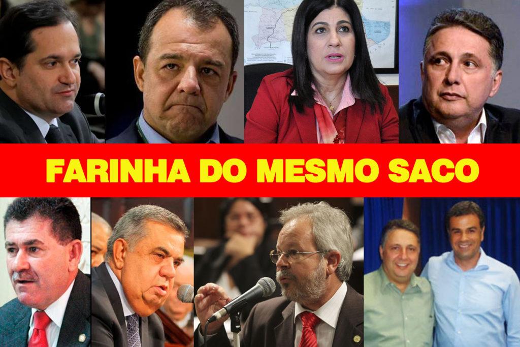 FARINHA DO MESMO SACO
