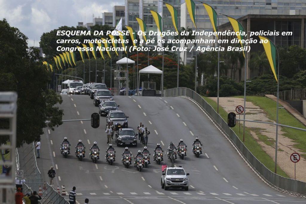 Último ensaio para a posse do presidente eleito, Jair Bolsonaro.