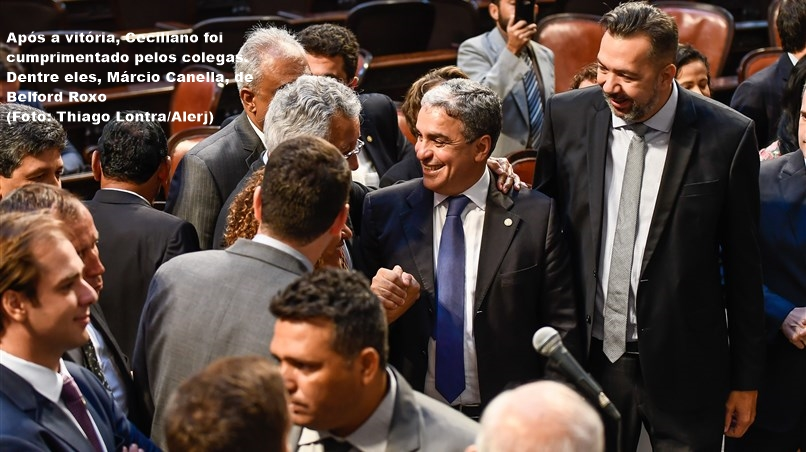 Ceciliano Eleito Pres Alerj 02022019
