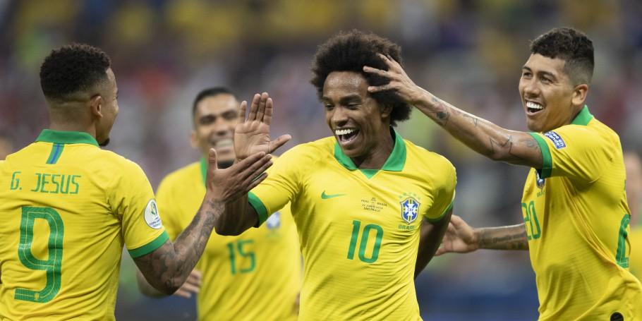 Brasil 5 x 0 Peru 22062019