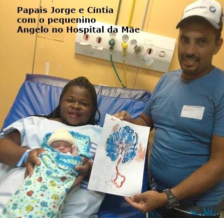 01 Jorge e Cíntia 1º Bebê Angelo 2020 Mesquita