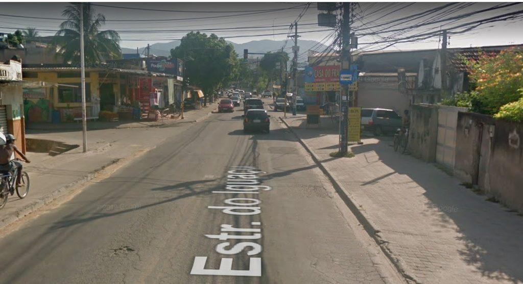 Segurança - Estrada Iguaçu