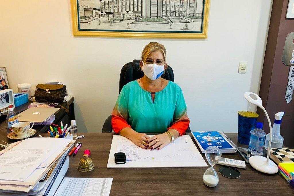 Secretária de Saúde de São João de Meriti, Marcia Lucas