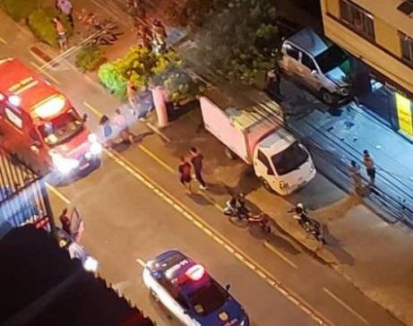 A vítima foi baleada na Avenida Roberto Silveira/Reprodução