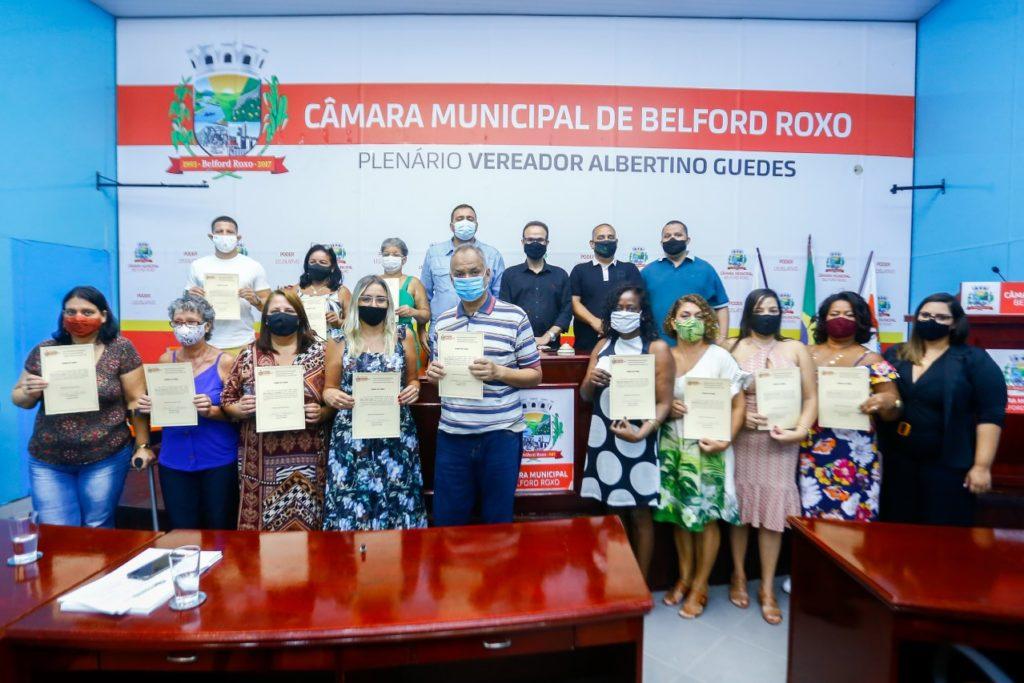 O Conselho Municipal de Educação tomou posse para dois anos de mandato/Rafael Barreto/PMBR