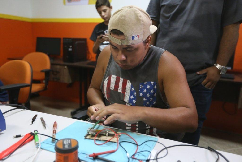 O programa vai funcionar com cursos voltados para jovens de 15 a 29 anos/Rafael Barreto/PMBR