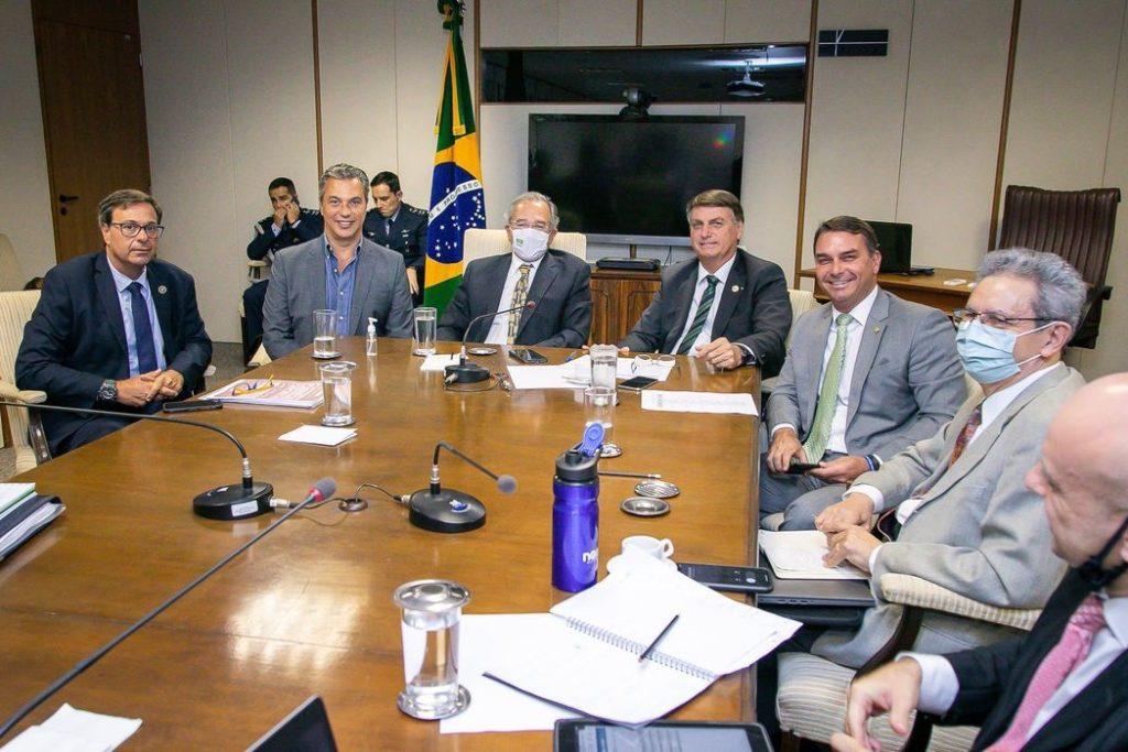 Bolsonaro discute medidas para reduzir preço do diesel/Washington Costa/Ministério da Economia