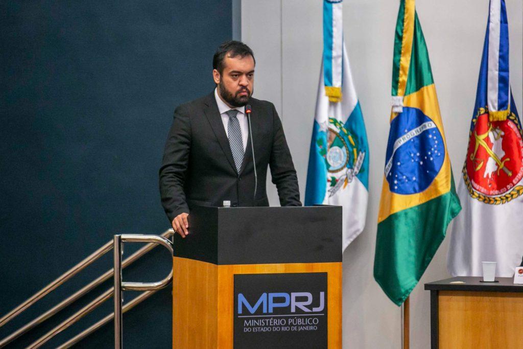 """""""O Ministério Público é um dos pilares do regime democrático"""", disse Castro/Divulgação/Governo do estado"""