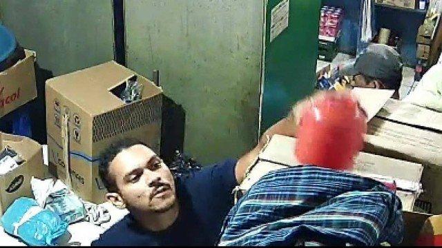 André Santos de Melo foi identificado através de câmeras de segurança/Divulgação