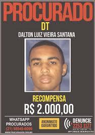 Informações pela captura do traficante valem R$ 2 mil/Divulgação