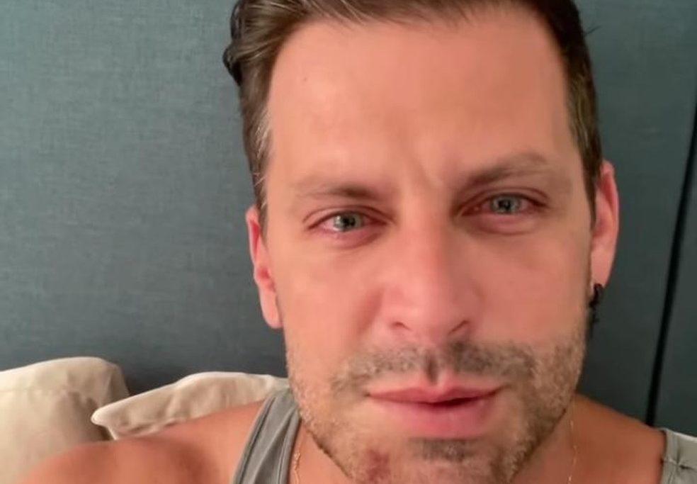 Henri Castelli disse que foi agredido com chutes e socos/Reprodução/Instagram