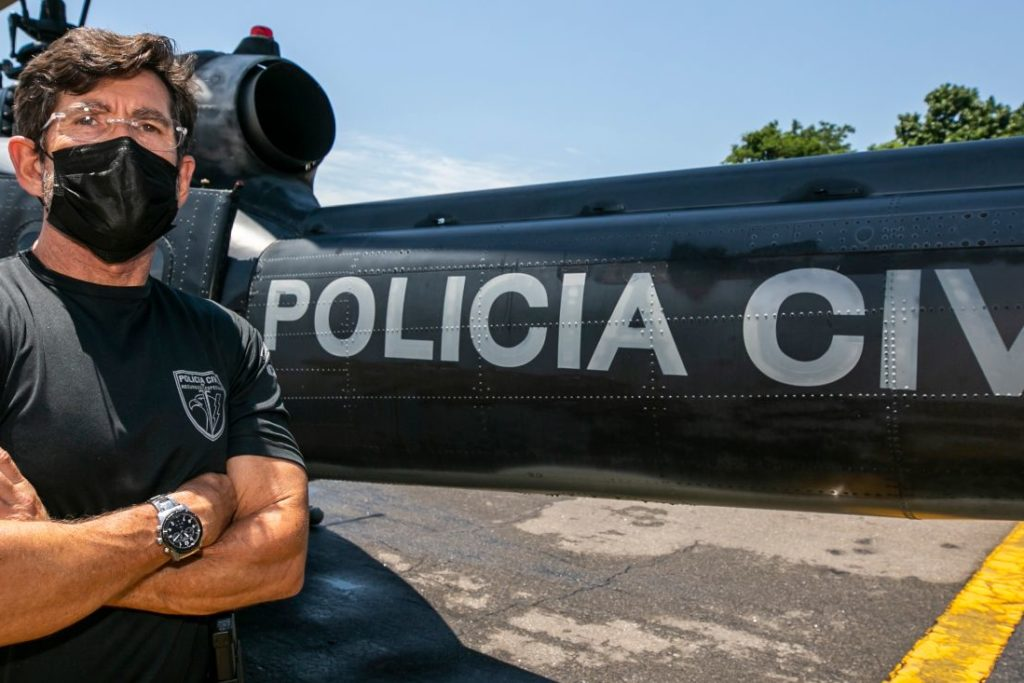 Rio de Janeiro - RJ - 02/02/2021   Comandante Franco SAER CORE  Foto: Rafael Campos
