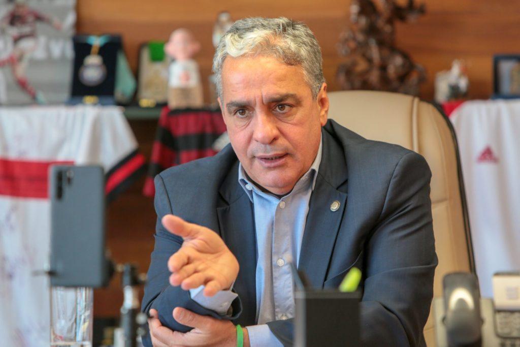 Deputado André Ceciliano (PT) foi reeleito presidente da Casa/Divulgação/Alerj