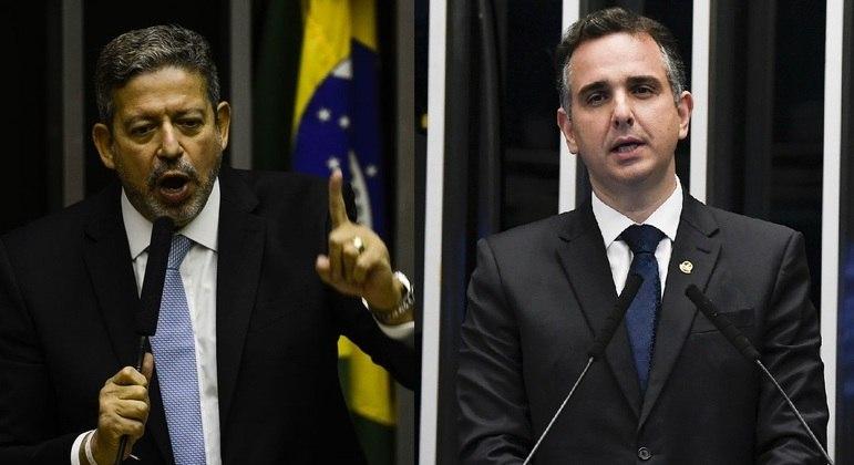 Lira e Pacheco almoçaram com o ministro Paulo Guedes/Leonardo Sá/Agência Senado