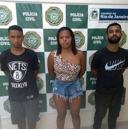 WL, Bibi e Barba foram presos pela polícia/Reprodução