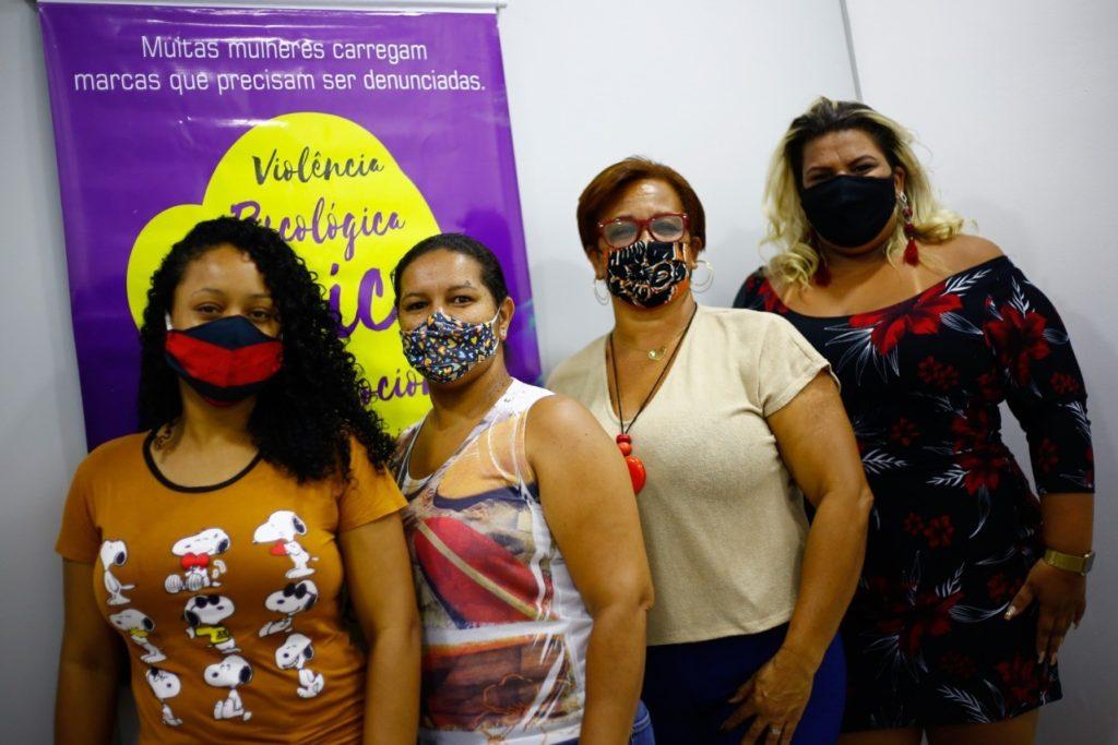 O Ceambel conta com uma equipe multidisciplinar para atender para atender as mulheres/Rafael Barreto/PMBR