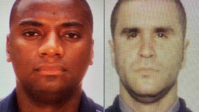Sérgio Lima Ferraz Filho (e) e Jorge Crispim Silva Santos: mortos pelos assassinos do chefe/Divulgação