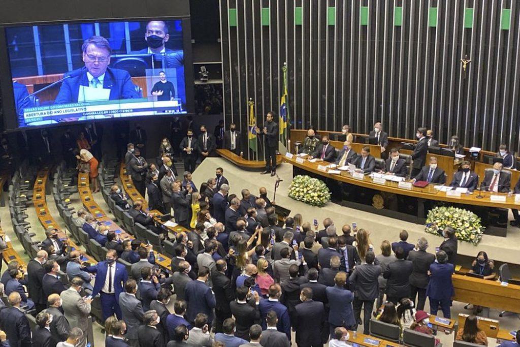 Presidente participou de sessão solene de abertura do ano legislativo/Fabio Rodrigues Pozzebom/Agência Brasil