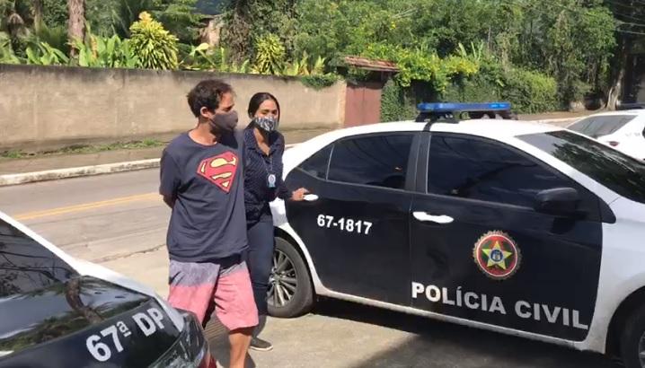 Hermes Diogo foi condenado por agredir a madrasta/Divulgação/PCERJ