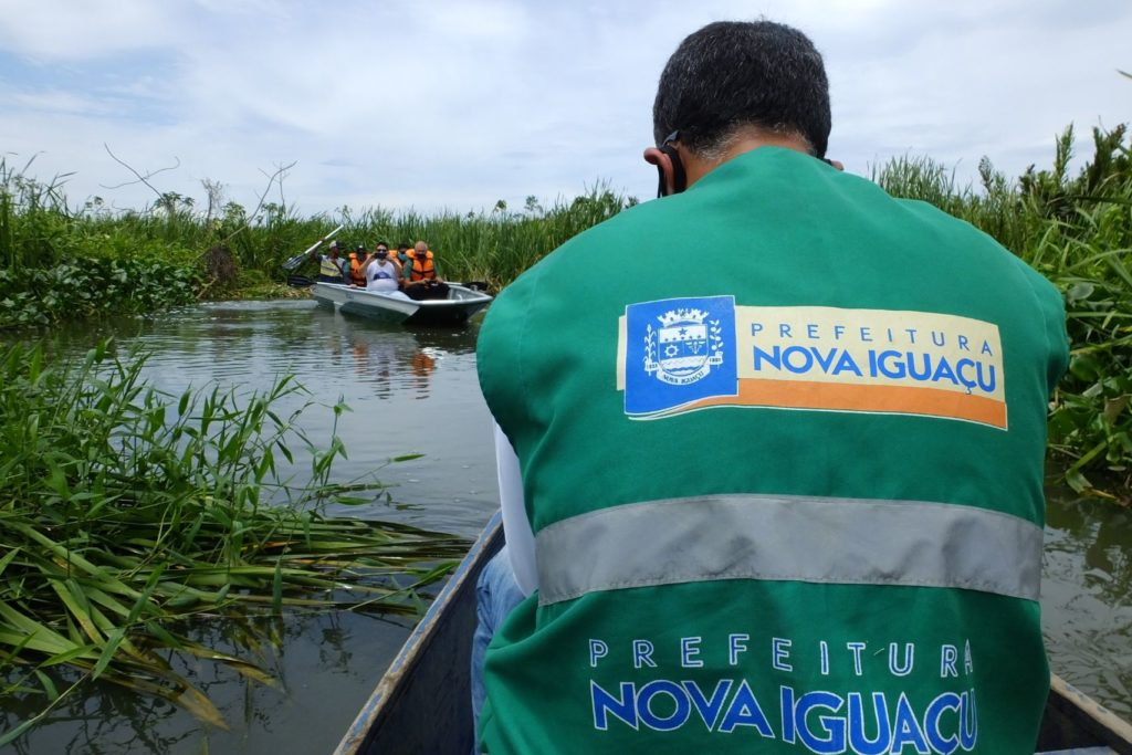 Integrantes da pasta do Meio Ambiente de Nova Iguaçu inspecionaram APA/Divulgação/PMNI