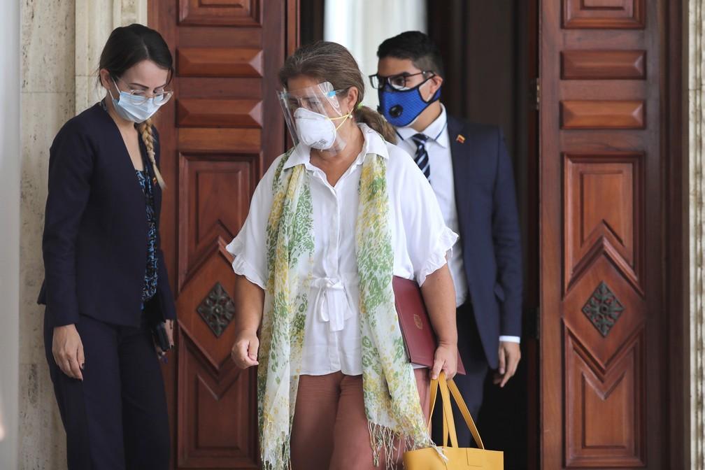 Isabel Brilhante é embaixadora da União Europeia em Caraca/Manaure Quintero/Reuters