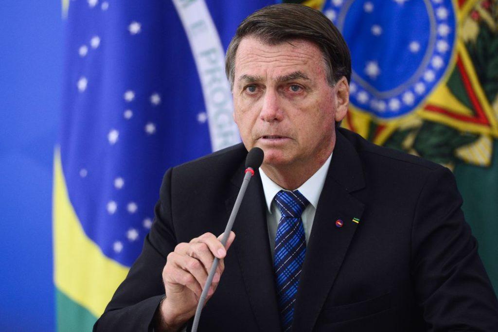 Presidente Jair Bolsonaro: ações complementares de toda a administração pública federal em auxílio aos estados e ao Distrito Federal/Reprodução