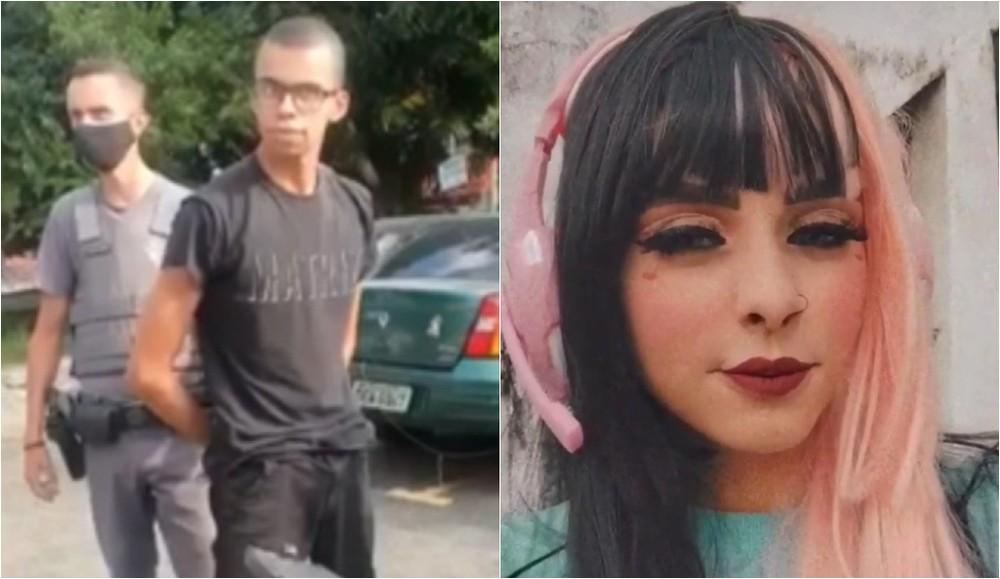 O estudante Guilherme Alves matou Ingrid Oliveira Bueno a facadas/Reprodução/G1