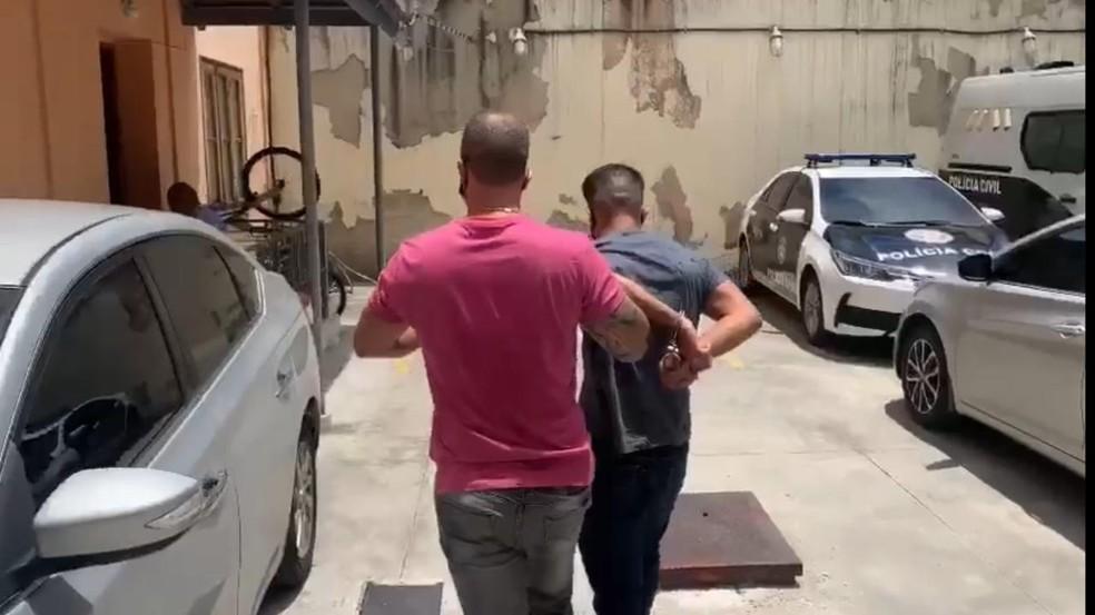 Michael Sales foi preso na Zona Oeste do Rio/Reprodução