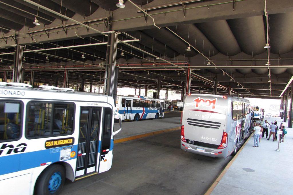 Terminal Rodoviário de Nova Iguaçu com pouco movimento/Divulgação