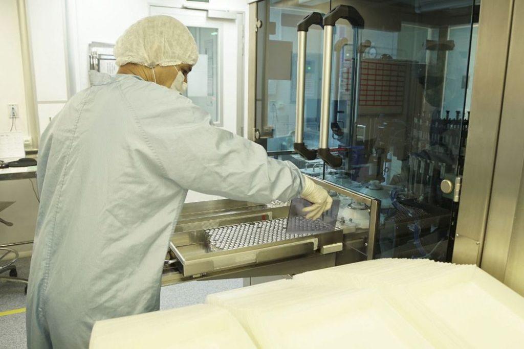 Fiocruz inicia envase do primeiro lote de IFA da vacina Covid-19/Reprodução