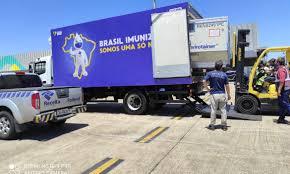 Estado aguarda a chegada de 118,8 mil doses da vacina CoronaVac. Foto: Divulgação/Receita Federal