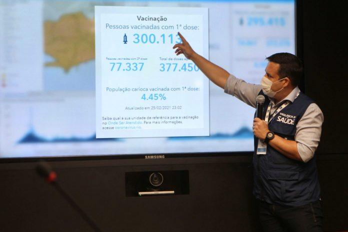 Vacinação no Rio pode ter três dias diferentes para imunizar idosos /Reprodução