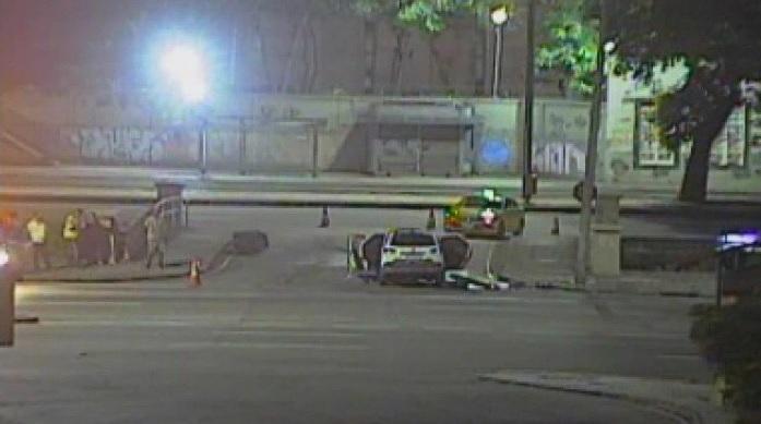 O acidente aconteceu na Avenida Presidente Vargas, na altura do bairro Cidade Nova/Reprodução