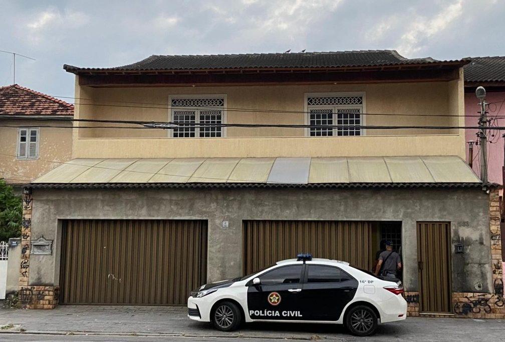 Polícia cumpre mandado de busca contra o vereador Dr. Jairinho, na casa do pai, Coronel Jairo/Reprodução/TV Globo