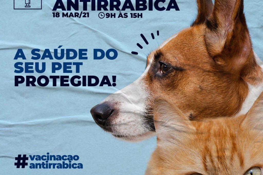 Cartaz da campanha de vacinação/Divulgação/PMSJM