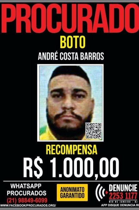 André Costa Barros é conhecido como Boto/Divulgação