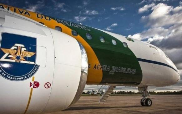 Avião da FAB que transportou 37 kg de cocaína do Brasil à Espanha/Reprodução