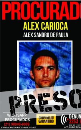 Alex Carioca foi preso em Bangu/Divulgação