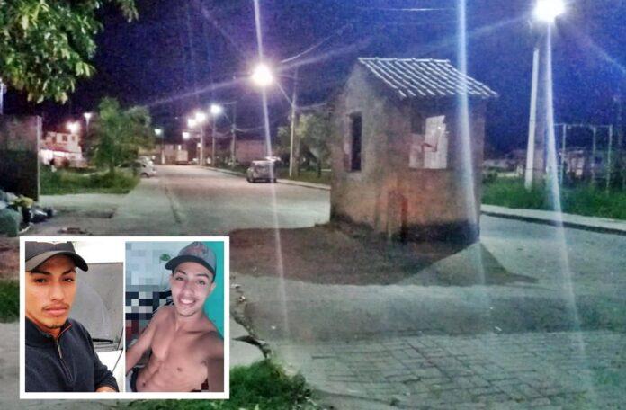 Os irmãos gêmeos Tiago e Daniel foram mortos dentro do residencial/Reprodução