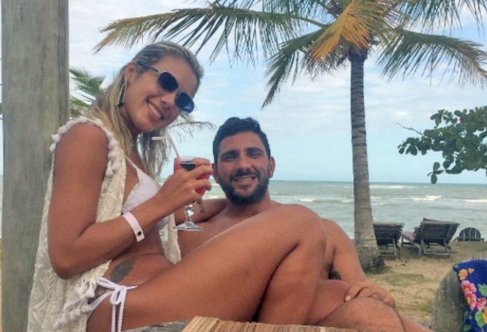 Adriano e Julia Mello: vida cercada de luxo e crime/Divulgação/Reprodução