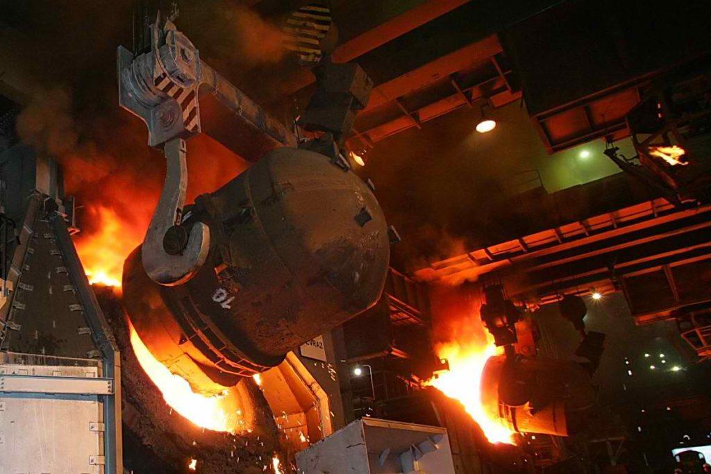 O retorno das atividades da siderúrgica é motivado pela alta da demanda do mercado por aço/Divulgação/Governo do RJ
