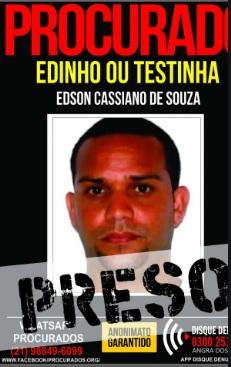 'Testinha' é acusado de pertencer ao tráfico de drogas de Itaguaí e Jacarezinho/Divulgação